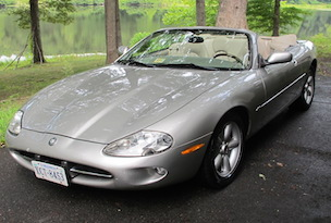 98 Jaguar XK8 Convertible