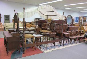American Empire Bedroom Furniture