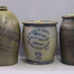 Antique stoneware crocks online auction
