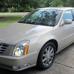 08 Cadillac DTS for auction