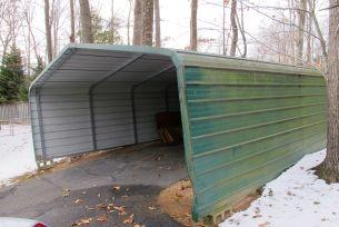 16' x 20' aluminum carport