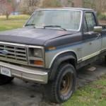 85 Ford F250 XL Pickup Online Auction Richmond VA