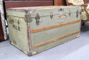 Mary Lincoln Beckwith Travel Trunk for auction