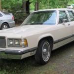 1990 Mercury Grand Marquis LS 4 door sedan