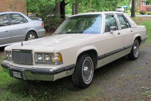 1990 Mercury Grand Marquis LS 4 door sedan