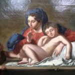 Madonna and sleeping child online auction
