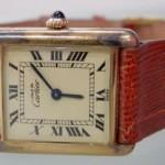 Must de Cartier vermeil watch