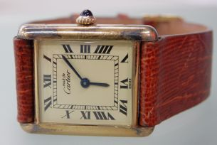 Must de Cartier vermeil watch